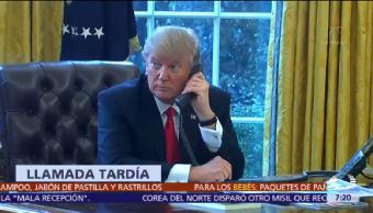 Trump Teléfono Peña Nieto Ofrece Condolencias Sismo