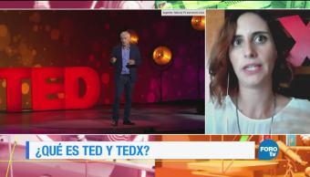 Una plática sobre qué es TED y TEDx