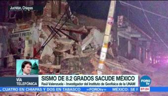 UNAM Sismo en la CDMX, 200 más fuerte que el del 85