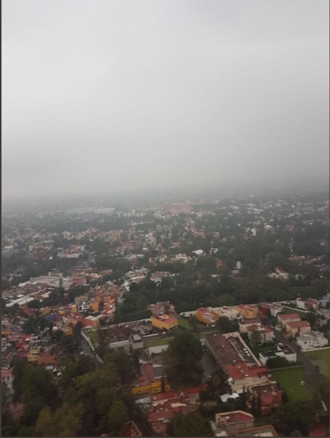 vista panoramica dela ciudad de mexico