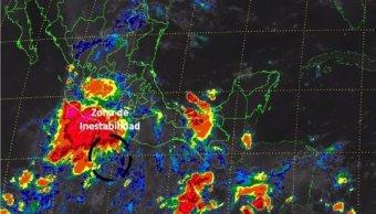 SMN detecta zona baja presión costas Michoacán