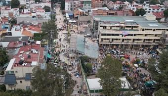 Garantizan abasto de mercancías en zonas afectadas por el sismo