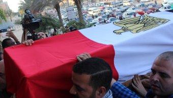 El Cairo confirma la muerte de 16 policías en ataque de grupo armado