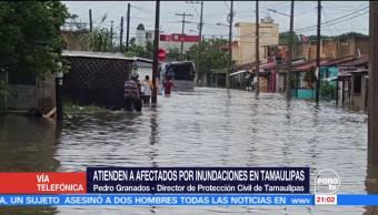 Intensas Lluvias Dejan Severas Afectaciones Sur Tamaulipas