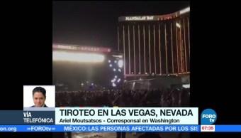 Más de 200 heridos deja tiroteo en Las Vegas, Nevada