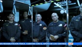 Brigadistas de Estados Unidos dejan México tras apoyar rescates por sismo