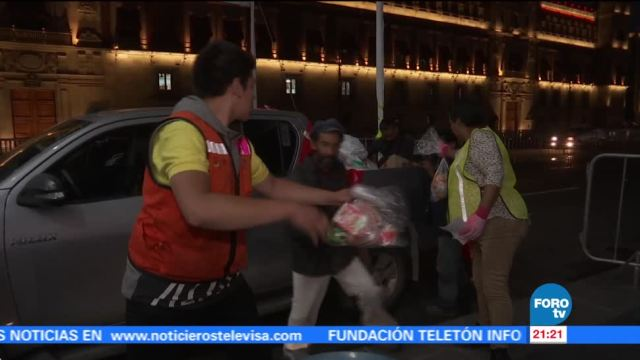 Los voluntarios del 19-S de Tepito