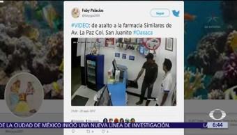 #DenunciaEnDespierta: Videos de asaltos en farmacias