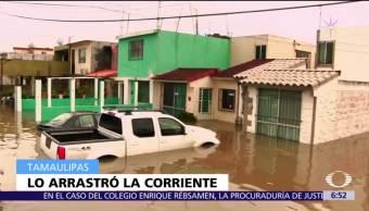 Lluvias afectan 15 colonias de Tampico, Tamaulipas; activan refugios temporales