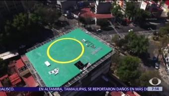 Edificio de la Condesa registra severos daños por helipuerto ilegal