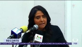 Alejandra Barrales propone plan de austeridad para apoyar a damnificados del sismo