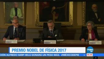 Estudios de ondas gravitacionales ganan Premio Nobel de Física