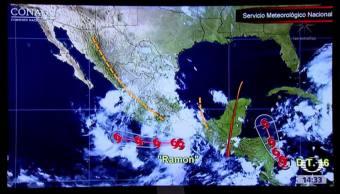 Ciclón Ramón provocará lluvias torrenciales Servicio Meteorológico Nacional