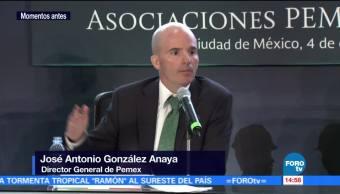 José Antonio González Anaya habla sobre los contratos de asociación Pemex