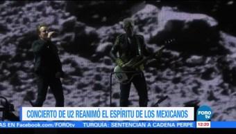 U2 dedica palabras a México en primer concierto en la CDMX
