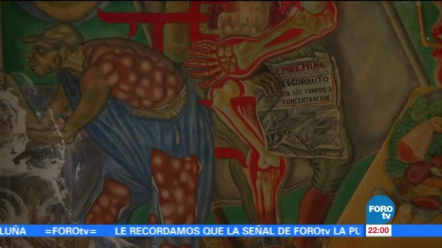 Situación de murales tras sismos en México