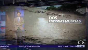 'Ramón' se degrada a depresión tropical y se aleja de México