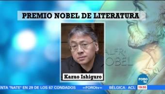 Kazuo Ishiguro gana Nobel de Literatura 2017