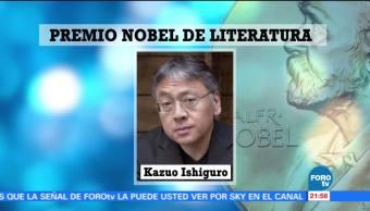Otorgan Nobel de Literatura a Kazuo Ishiguro