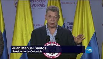 Santos logra acuerdo con la última guerrilla de Colombia