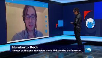 Genaro Lozano entrevista a Humberto Beck