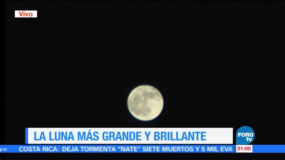 La primera Luna llena de octubre