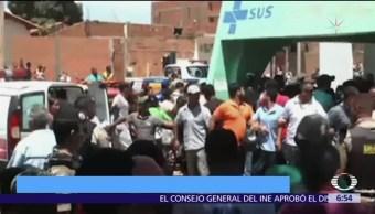 Decretan 7 días de luto en Minas Gerais por incendio en guardería