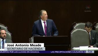 Inicia glosa del quinto informe de Gobierno en el Congreso, comparece Meade