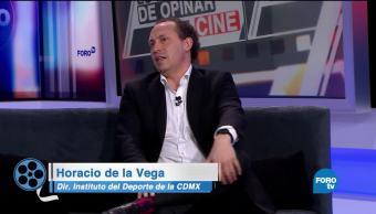 Horacio de la Vega platica de: 'Azul profundo'