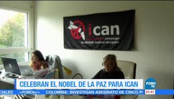 Otorgan Premio Nobel de la Paz a campaña antinuclear