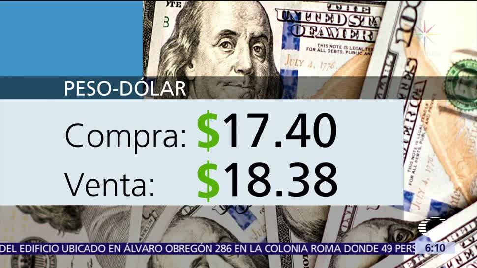 El dólar se vende en $18.38
