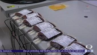 En México, 2.3% de la población dona sangre de manera altruista