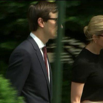 Ivanka Trump y Jared Kushner no pierden popularidad