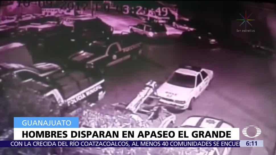 Atacan comandancia en Apaseo El Grande, Guanajuato