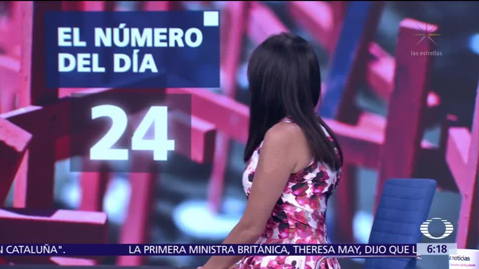 El número del día: 24