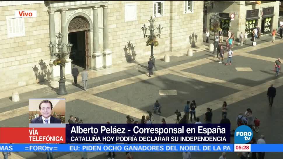 Refuerzan seguridad antes del pleno en Cataluña