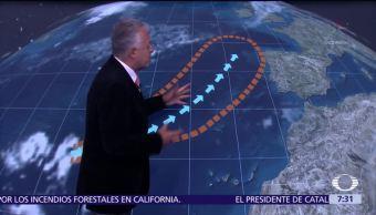 La tormenta tropical 'Ofelia' se dirige hacia Europa