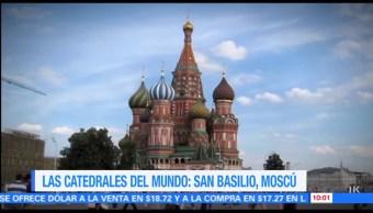 La catedral de San Basilio en Rusia