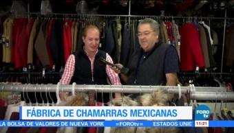 Fábrica de chamarras mexicanas