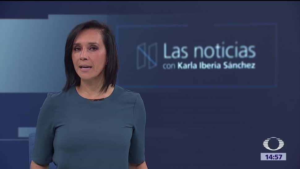 Las noticias, con Karla Iberia Programa del 11 de octrubre de 2017