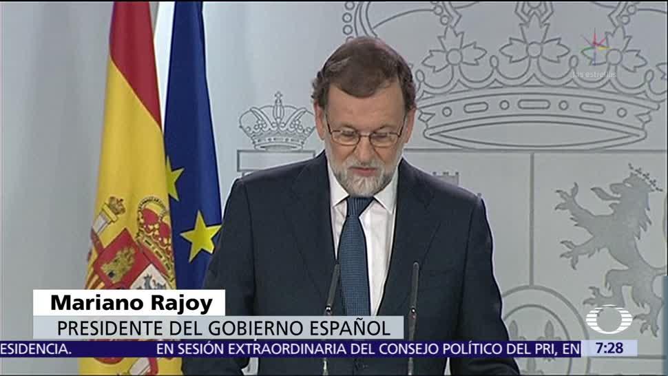 Mariano Rajoy afirma que no habrá diálogo con Cataluña en la ilegalidad