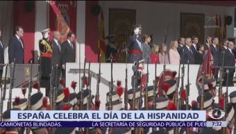 España celebra el Día de la Hispanidad, en medio de crisis política