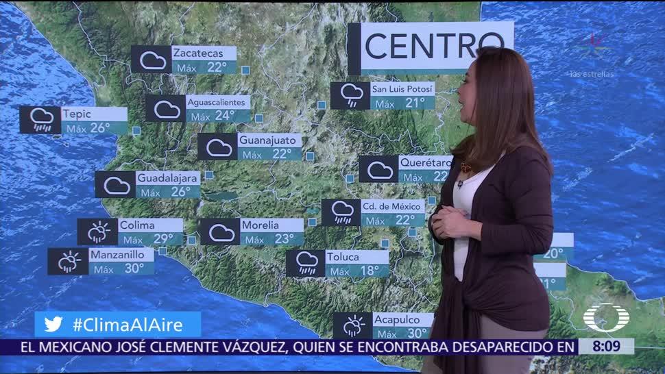 Clima Al Aire: Pronostican lluvia en el Valle de México