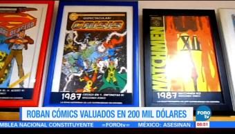 Extra, Extra: Roban cómics valuados en 200 mil dólares
