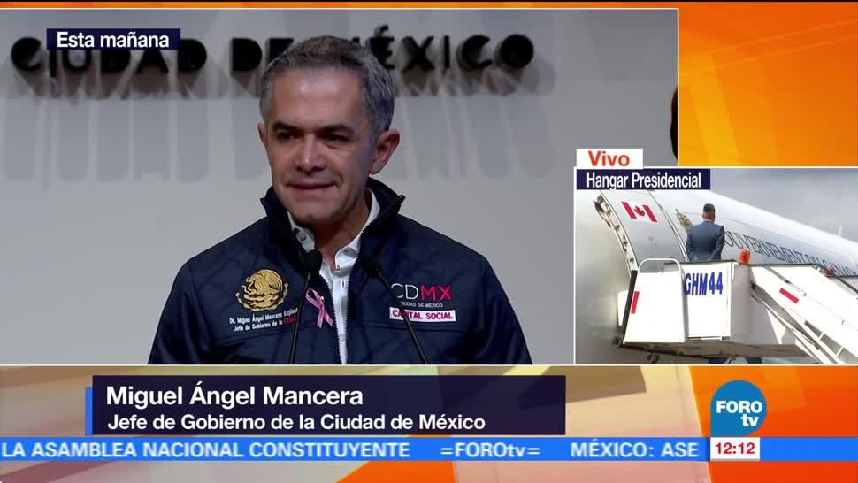 CDMX tendrá casas antisísmicas, afirma Miguel Ángel Mancera