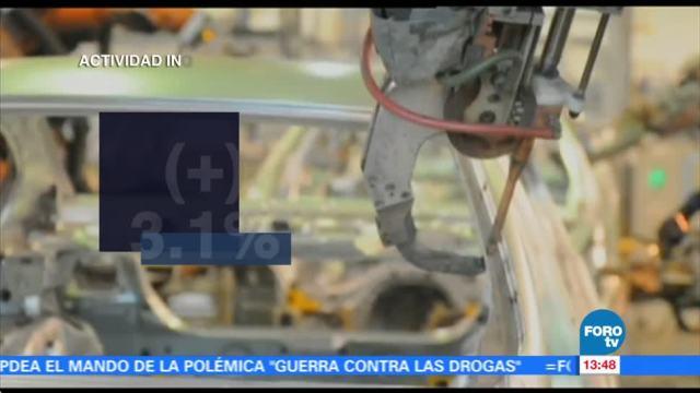 Producción industrial aumenta 0.3% en agosto: INEGI