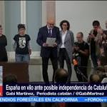 Cataluña brindó gesto de diálogo al Gobierno Español, según periodista