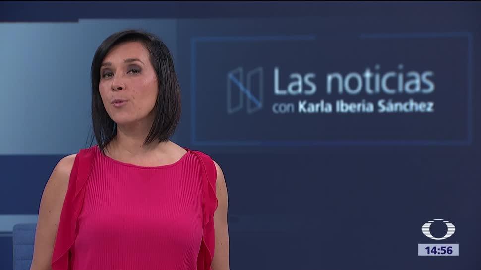 Las noticias, con Karla Iberia Programa del 12 de octrubre de 2017