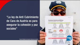 Austria prohíbe cubrirse el rostro