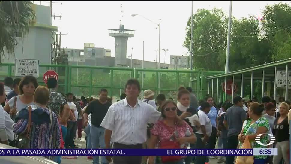 Autoridades admiten error en lista inicial de fallecidos en penal de Cadereyta